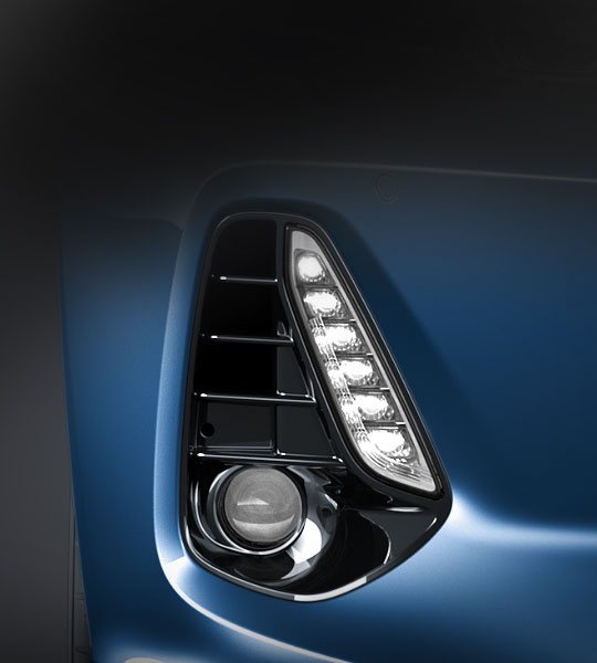 LED Daytime Running Lights (DRL)